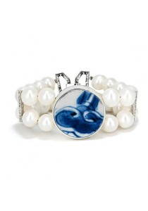 Gustava Heritage Bracelet with Fresh Water Pearl