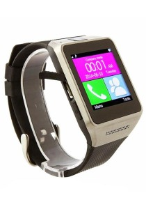"GV08 Smartwatch 1.5"" Screen with Built-in SIM slot and Camera (Black)"