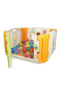 Haenim Baby Play Yard 4 + 4 Panel Beige