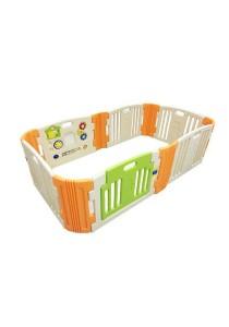 Haenim Baby Play Yard 6 + 6 Panel Beige