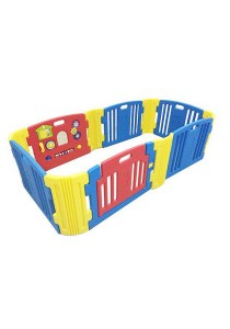 Haenim Baby Play Yard 6 + 6 Panel Blue