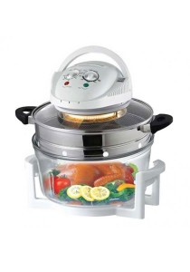 Convection Halogen Oven With Air Fryer Extension Ring 12L