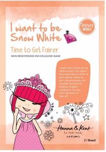 HANNA & KENT SnowyWhite Bio-Cellulose Mask-Skin Brightening x 1