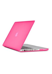 "Hard Protector Cover for Macbook 15.4"" Retina Front and Back - Pink"
