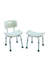 Hopkin Shower Chair with Backrest