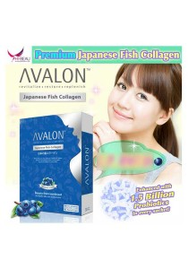 Avalon Japanese Fish Collagen Blueberry Flavour
