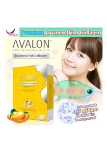 Avalon Japanese Fish Collagen Lemon Flavour 2500mg