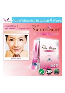 Avalon NaturBeauty Skin Whitening L-Glutathione + Collagen