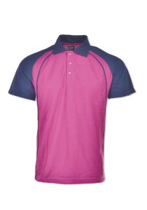 Cotton Polo T Shirt HCP 01 (Purple)