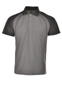 Cotton Polo T Shirt HCP 03 (Charcoal)
