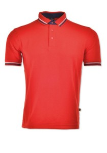 Cotton Polo T Shirt HCP 07 (Red)