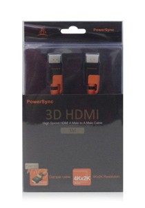 Powersync High Speed HDMI A Male to A Male Cable (3M)