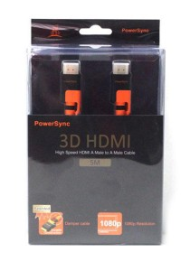 Powersync High Speed HDMI A Male to A Male Cable (5M)