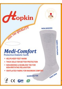 Hopkin Diabetic Knee High Socks
