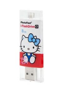 Photofast iFlash Drive Hello Kitty 8GB Android USB 2.0