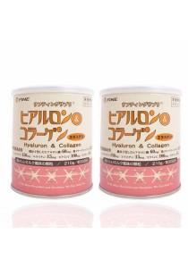 Fine Hyaluron & Collagen 210g [2 Cans]