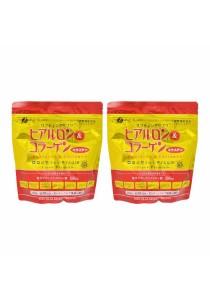 FINE Refill Pack Hyaluron & Collagen + Q10 210g [2 Packs]