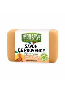 MAITRE SAVON DE MARSEILLE Cannelle-orange (Cinnamon-orange) 100g