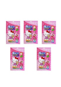 Hello Kitty Mosquito Repellent Patch Sticker 5 Packs