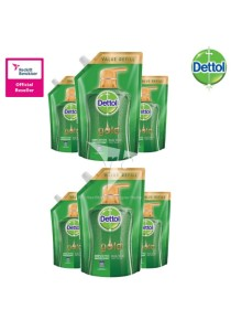 Dettol Gold Shower Gel Daily Clean Refill 900ml x 6 Packs