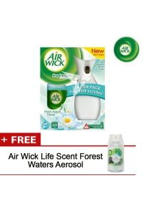 Air Wick Freshmatic Starter (Aqua Floral) + FOC Air Wick Life Scent Forest Waters Aerosol - 806503FOC