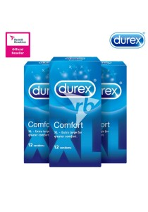 Durex Comfort Condoms 12s X 3 Boxes
