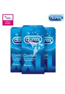 Durex Comfort Condoms 12s X 3 Boxes