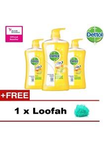 Dettol Shower Gel Fresh 950ml x 3