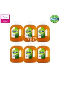 Dettol Anticeptic Liquid 1 Litre x 6 Bottles