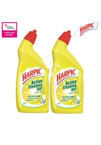 Harpic Liquid Lemon 500ml Twin Pack