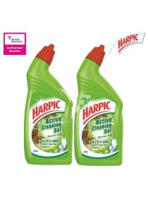 Harpic Liquid Mountain Pine 500ml Twin Pack