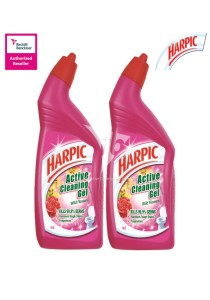 Harpic Liquid Wild Flowers 500ml Twin Pack