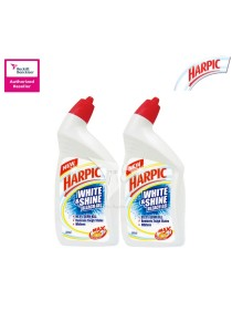 Harpic Liquid White & Shine 500ml Twin Pack
