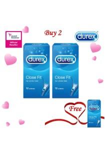 Durex Valentine's Day Special: Buy 2 Get 1 Free! Durex Close Fit 12s 2+1