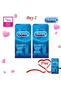 Durex Valentine's Day Special: Buy 2 Get 1 Free! Durex Comfort 12s 2+1