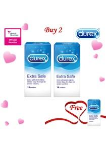 Durex Valentine's Day Special: Buy 2 Get 1 Free! Durex Extra Safe Easy On 18s 2+1