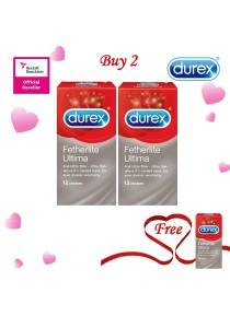 Durex Valentine's Day Special: Buy 2 Get 1 Free! Durex Fetherlite Ultima 12s 2+1