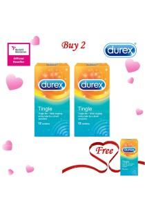 Durex Valentine's Day Special: Buy 2 Get 1 Free! Durex Tingle 12s  2+1
