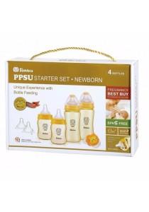 Simba Starter Kit Cross Hole- PPSU Feeding Bottle Series