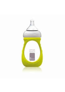 Umee Glass Bottle with Sleeve 240ml (Green)