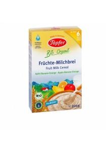 Topfer Organic Fruit Milk Cereal (Apple-Banana-Orange)