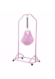 Babylove Cream 2L Compact Cradle Stand (Pink)