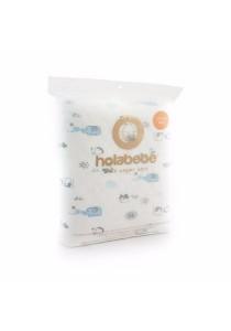 Holabebe Baby Diaper Mat Waterproof Blue Elephant (size 105 x 70cm)