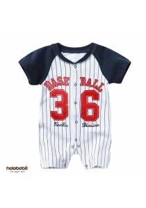 Holabebe Baseball 36 100% Cotton