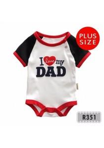 Holabebe Romper I Love My Dad 100% Cotton