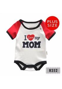 Holabebe Romper I Love My Mom 100% Cotton