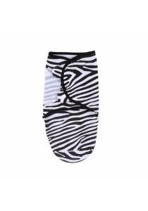 Summer Swaddleme Single Cotton S/M (Zaney Zebra)