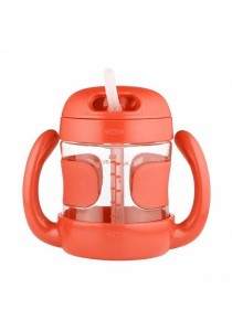 OXO Tot Straw Cup With Handles (7 oz.) Orange