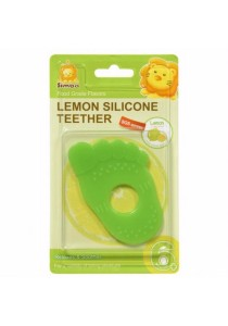 Simba Lemon Flavor Silicone Teether (Foot Green)