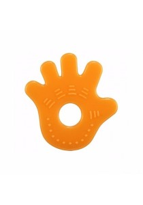 Simba Silicone Teether (Orange)